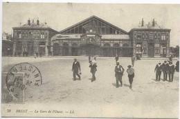 BREST : La Gare De L Ouest - Brest