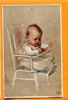 FEL1471, Bébé, Illustrateur Marie Pischon, Trou De Punaise, Non Circulée - Neonati