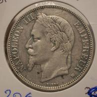 5 Francs 1869 BB - France