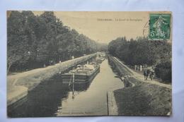 TONNERRE-le Canal De Bourgogne-peniches-ATTENTION!MAUVAIS ETAT(decollement) - Tonnerre