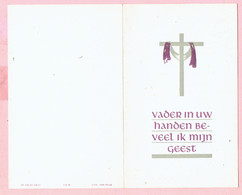 Bidprentje  -Eugène DE BORGGRAEVE Wed. Maria VAN BRUAENE Echtg.Alice DOBBELAERE- Nazareth 1868 - St.-Denijs-Westrem 1963 - Images Religieuses