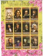 Les Plus Grands Scientifiques: Da Vinci,Copernic,Galilée,Newton,Lavoisier,Marie Curie,Einstein,Darwin,etc. B-F Oblitéré - Sonstige
