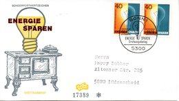 "BRD Schmuck-FDC ""Energie Sparen"" 2x Mi.1031  ESSt BONN 1, 14.11.1979 - BRD"