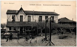 34 CARNON - Etablissement BOUSQUET - Café-restaurant - Frankreich