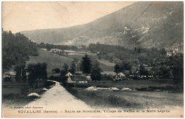 73 NOVALAISE - Route De Novalaise, Village De Nance Et Le Mont Lépine - Autres Communes