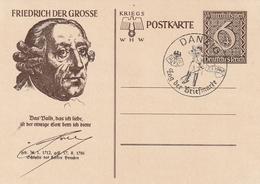 """Deutsches Reich / 1939 / Sonderpostkarte Mi. P 285/04 """"Friedrich Der Grosse"""" SSt. Danzig (3504) - Allemagne"""
