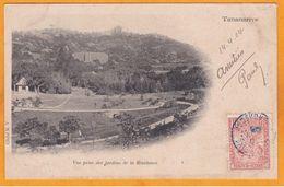 1904 - Carte Postale De Tananarive, Madagascar Vers Saint Mandé, Seine, France  - Affrt 10 C Arbre Du Voyageur - Storia Postale