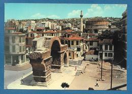 THESSALONIQUE L'ARC DE GALERIUS ROTONDE 1960 - Grecia