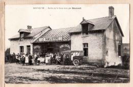 X51188 Peu Commun BOULEUSE (51) FAMILISTERE A-79 Buffet De La GARE Tenu Par BOUCAULT 1914 à BEUNET Beurres LANDEAN - France