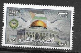 EGYPT, 2019, MNH,  JOINT ISSUES, JERUSALEM CAPITAL OF PALESTINE, 1v - Emisiones Comunes