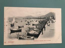 PALERMO PORTA FELICE E FORO UMBERTO I  1905 - Palermo