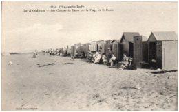 17 ILE D'OLERON - Les Cabines De Bains Sur La Plage De St-Denis - Ile D'Oléron