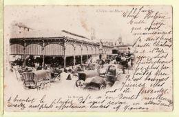 X51048 CHALONS Sur MARNE Halle MARCHE Couvert CPA Postée 25.6.1902 à GUSON Rue Montoison Reims - G. DURAND - Châlons-sur-Marne