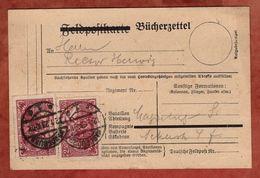 Karte, Buecherzettel, Genius Mit Fackel, Magdeburg 1923 (88765) - Briefe U. Dokumente
