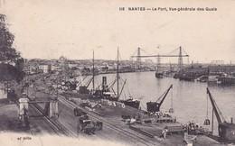 44-Nantes Vue Générale Des  Quais-Le Port - Nantes