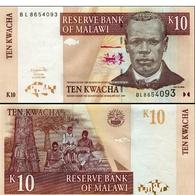 BILLET MALAWI 10 KWACHA - Malawi