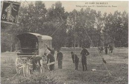 MAILLY Le CAMP : Telègraphie Sans Fil - Installation Du Poste - Equipment