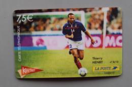 020, Cartes Prépayée Kertel - Thierry Henry - Football - France