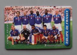 021, Cartes Prépayée Kertel - Equipe De France - Football - France