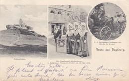 Gruss Aus Dagsburg Dabo 1906 - Dabo