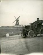 Allemagne? Automobile Audibert & Lavirotte Moulin A Vent Ancienne Photo 1898 - Automobili