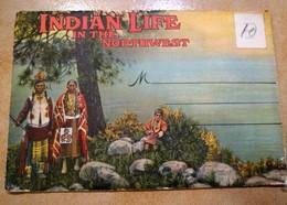 INDIAN LIFE 18 TYPES INDIENS INDIAN YAKIMA BLACKFEET SIOUX MAK-A-WA PAPOOSE CALISPEL SPOKANE NEZPERCE CUSTER BATTLE - Indios De América Del Norte