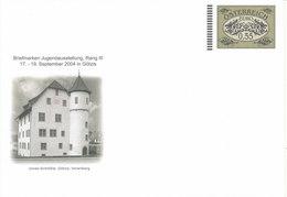 Austria Postal Stationery Cover In Mint Condition Briefmarken Jugendausstellung Rang III 2004 In Götzis - Entiers Postaux
