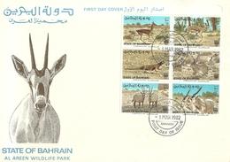 SHH   Bahrain   Nice   FDC - Bahrein (1965-...)
