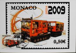 Monaco > Cartes-Maximum > 2009 - JOUR D'EMISSION - Daté 05.1.2009  - Parfait état - Cartes-Maximum (CM)
