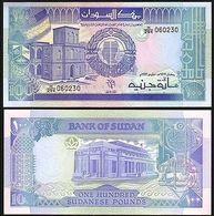 BILLET SOUDAN 100 POUNDS - Soudan