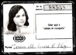 Portugal, PASSE 1998 - CARRIS, Companhia Carris De Ferro De Lisboa - Week-en Maandabonnementen