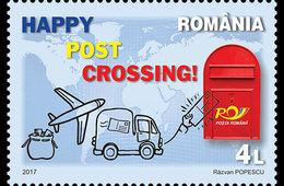 Romania 2017 / Postcrosing - 1948-.... Repúblicas