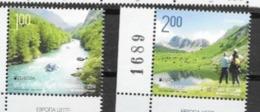BOSNIA SERB, 2012, EUROPA, MOUNTAINS, HIKING, RIVERS, BOATS, 2v - 2012