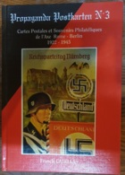 Propaganda Postkarten N°3 , Francis Catella , III° Reich , L'Axe Rome Berlin - Français