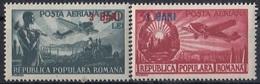 ROMANIA 1363-1364,unused - 1948-.... Repúblicas