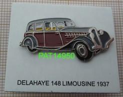 DELAHAYE 148 LIMOUSINE De 1937 - Altri