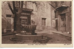 13. Bouches Du Rhône, Allauch, Place De La Coquille. - Allauch