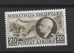 1939 MH Albania Michel 312 - Albanie
