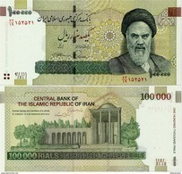 IRAN       100,000 Rials       P-151b       ND (2013)      UNC  [ Sign. 37 ] - [ 100000 ] - Iran