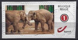 België O.B.C. Persoonlijke Postzegels (O) Op Fragment - Timbres Personnalisés