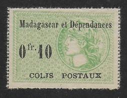MADAGASCAR 1919/1922 - COLIS POSTAUX YT 5** - Madagascar (1889-1960)