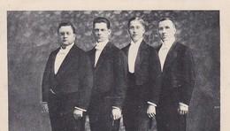 AK Foto 4 Sänger - Konzert Am 7. Juli 1921 - Halle/Westf. (46027) - Muziek En Musicus