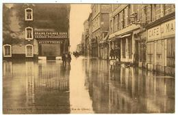 Besançon / Inondations Des 20-21 Janvier 1910 / Rue Gustave-Courbet ( Ancienne Rue Des Glères ) - Besancon