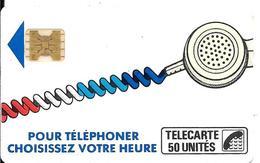 CARTE-PUBLIC-Ko58-540-50U-SC4On-S/E-SERIGRAPHIE-Puce7-Couronne Evidée/5 Impact-CORDON BLANC-Série-N°10920-V°SurEncré-TBE - Frankrijk