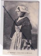 Costume D'Auray (56) Avec Châle (profil) - Auray