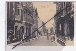 Hendaye (64) Rue Du Port (Commerces Et Belle Animation) - Hendaye
