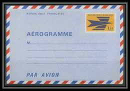 0465a France Entier Postal Stationery Aérogramme N°1002 Timbre Emblème PTT Cote 29 EUROS - Biglietto Postale