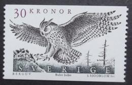 Schweden   Vögel   Uhu  1989   ** - Vögel
