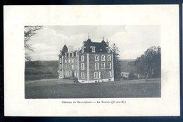 Cpa Du  22 Le Faouët  Château De Kervasdoué   DEC19-29 - Altri Comuni