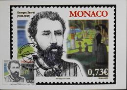 Monaco > Cartes-Maximum > 2009 - JOUR D'EMISSION - Daté 14.V.2009  - Parfait état - Maximumkaarten